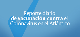 Reporte Diario Vacunación - Atlántico